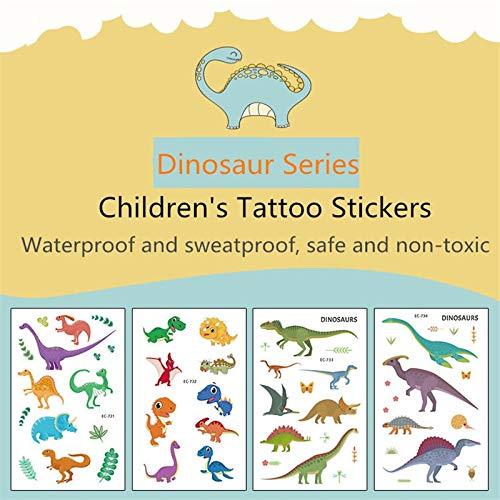 1PCS Waterproof Cartoon Child Tattoo Sticker Personality Animal Tattoo Sticker One-time Tattoo Stickers