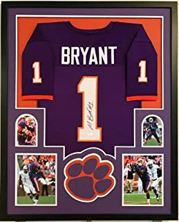 Martavis Bryant Autographed Signed Custom Framed Clemson Tigers Orange Jersey 1 - JSA Authentic