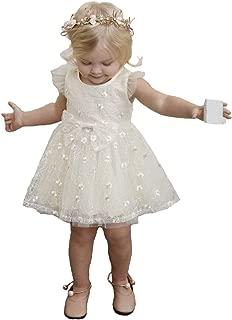 little dragon pig Girl White Tutu Dress Off Shoulder Holiday Birthday Wedding Party Chiffon Dresses