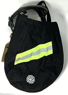 FIREFIGHTER SCBA MASK FACE PIECE BAG SCOTT MSA FIRE MAN - (Black)
