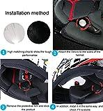 Zoom IMG-2 ejeas cuffia per casco moto