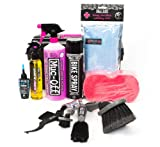 Muc-Off Ultimate Bicycle Care Kit-Set di manutenzione per biciclette con 11 pezzi