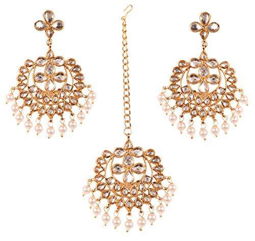NEW! Touchstone'Contemporary Kundan Collection' Indian Bollywood Beautiful...