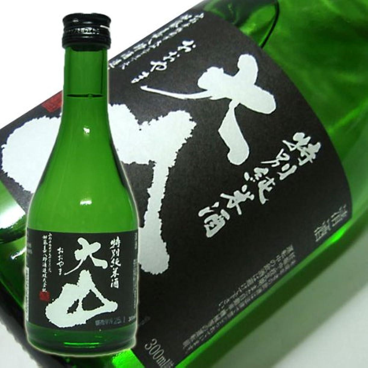 アメリカ大胆不敵クラッシュ大山 特別純米酒 加藤嘉八郎酒造 日本酒 300ml