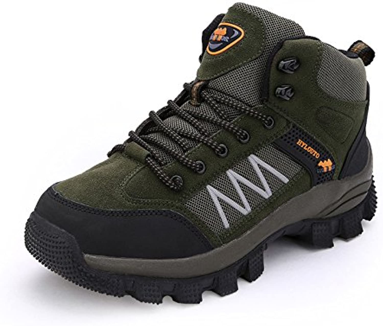 BERTERI Men's Hiking shoes Thicken Liner Breathable Mesh High Friction Casual Fashion Sneakers