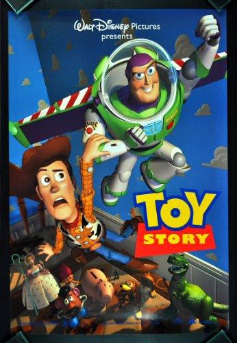 TOY STORY * CineMasterpieces ORIGINAL DS NM-M DISNEY PIXAR MOVIE POSTER 1995