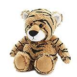 Warmies Tiger Soft Toys CP-TIG-1 - Peluche a forma di tigre, 0,76 kg, colore: Marrone