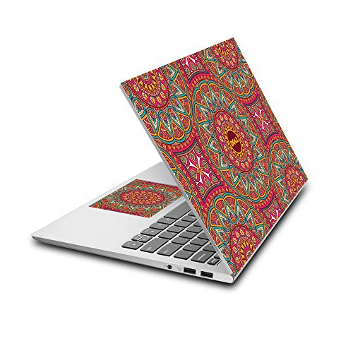 """Arjun Designs Abstract Laptop Skin Compatible for DELL 15.6"""" Laptops (Customizable)"""