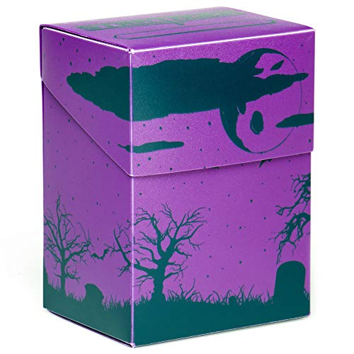 Stratagem The Big Box Card Deck Box with Divider Fright Night  Oversized Deck Box for 60Card Deck Plus More  Card Deck Boxes for Magic The Gathering Pokemon Yugioh amp Sleeved or Unsleeved Cards