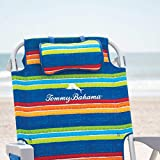 TECNOVOZ Tommy Bahamas 2000998 Folding Backpack Beach Chair with Handles
