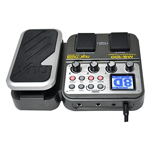 NUX MG-100 Modeling Guitar Processor Guitar Effect Pedal Drum Tuner Recorder 58 Effect 72 Preset Multi-functio (2)