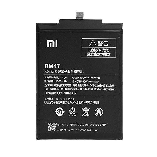 Original-Akku Xiaomi BM47 für Xiaomi Redmi 3/3S/3 Pro - 4000 mAh - BULK
