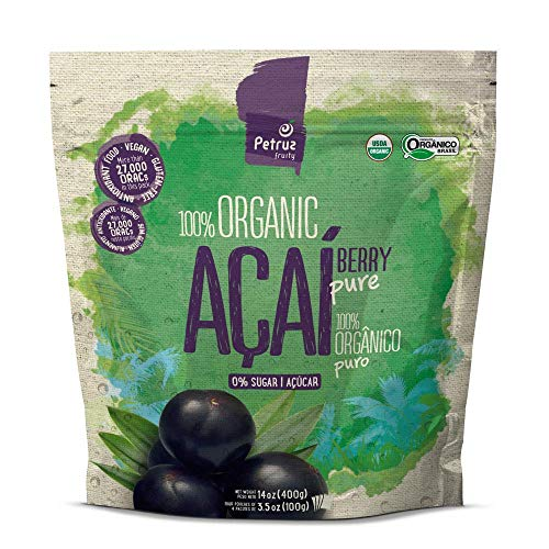 Pulpa de Açai puro orgánico (400g) | Polpa de Açai puro biológico (400g) | Açai pulp pure organic (400g)