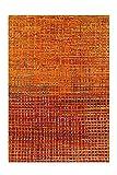 Arte Espina Topaz 5400 - Alfombra (80 x 150 cm), color naranja