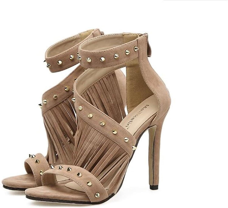 Women's Platform Slide Sandal Summer shoes Simple Dress High Heels
