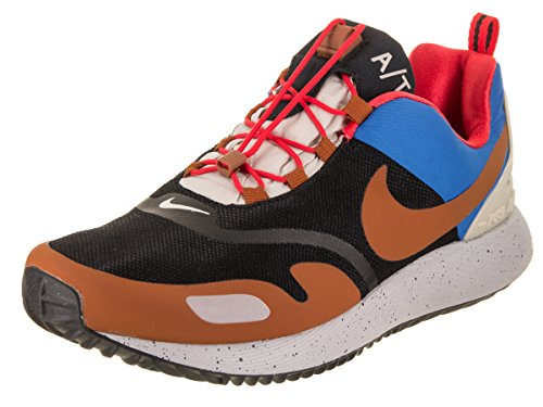 Nike Air Pegasus A/T Winter QS Hombre Running Trainers AO3296 Sneakers Zapatos (UK 7 US 8 EU 41, Black Dark Russet Blue 001)
