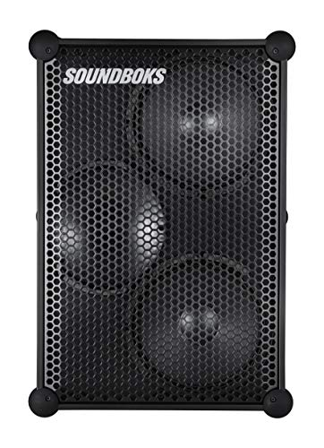 The SOUNDBOKS (Gen.3) - The Loudest Portable Bluetooth Performance Speaker (126 dB, Wireless, Bluetooth 5.0, Swappable Battery, 40Hr Average Playtime) (1BB)