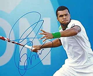 PROFESSIONAL TENNIS PLAYER Jo-Wilfried Tsonga autograph, IP signed photo
