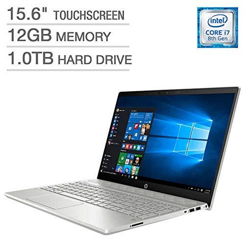 HP Pavilion 15t Full HD(1980x1080) Touscreen Laptop, Intel Core i7-8550U Processor, 12gb Ram, 1TB HDD, Backlit Keyboard, Bluetooth, Wifi, HDMI,...