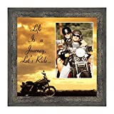 Classic Harley Picture Frame, Harley Davidson Gifts for Men, Harley Davidson Gifts for Women, Harley Davidson Wedding Gifts, Biker Motorcycle Accessories for Men, Unique Motorcycle Wall Decor, 9750BW