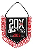 Stade Toulousain Fanion 20 x Champions - Collection Officielle Toulouse - Rugby