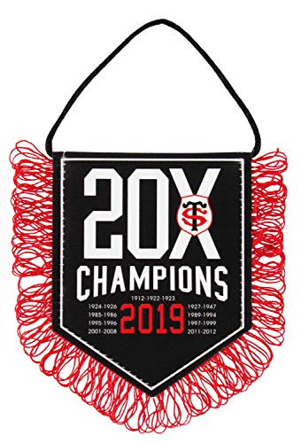 Stade Toulousain Wimpel 20 x Champions – Offizielle Kollektion Toulouse – Rugby