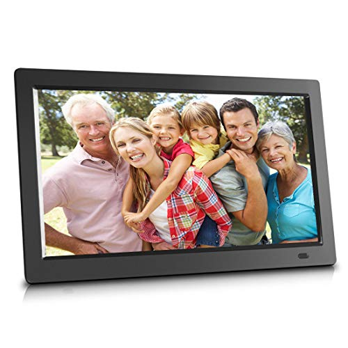 14 inch Cloud Wi-Fi Digital Picture Frame with Remote Control, 20GB Free Cloud Storage, Personal Cloud Album, Computer or App Manage, Minimum Setup, SD Card and USB Flash Drive Materials Presentation Storage