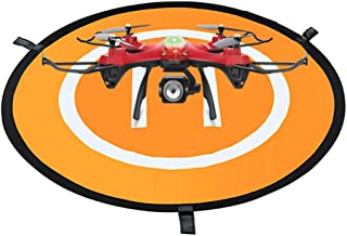"""Drone Landing Pad, Shellvcase Universal Waterproof Fast-Fold Double-Sided Launch Pads for RC Drones Helicopter, PVB Drones, DJI Mavic Pro Phantom 2/3/4/ Pro, Antel Robotic, 3DR Solo and More (30"""")"""