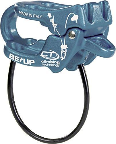 Climbing Technology Be-Up 2D657A5S2CT0STD Assicuratore, Azzurro, Taglia Unica