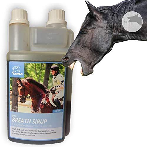 EMMA Hustensaft Pferd I Bronchial Kräuter Thymian I Sirup I Bronchialkur bei Husten I unterstützt bei Allergie I Beruhigung Atemwege I Bronchen Schleimlöser I Kräutermischung T schleimlösend 1L