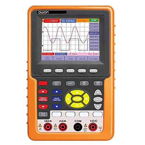 Dhmm123 Digital Handheld-Oszilloskope HDS1022M-N 2 Kanäle Multimeter 20MHz Bandbreite 100 MSa/s Echtzeit-Abtastrate Spezifisch
