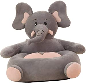 Baby Sofa Seats Infant Support Seat Children Seat Sofa Kids Adorable Cartoon Animal Plush Toys Baby Cushion Sofa Pillow Protector Safety Chair Couch Bed Backrest Chair Baby Toy Home Gift