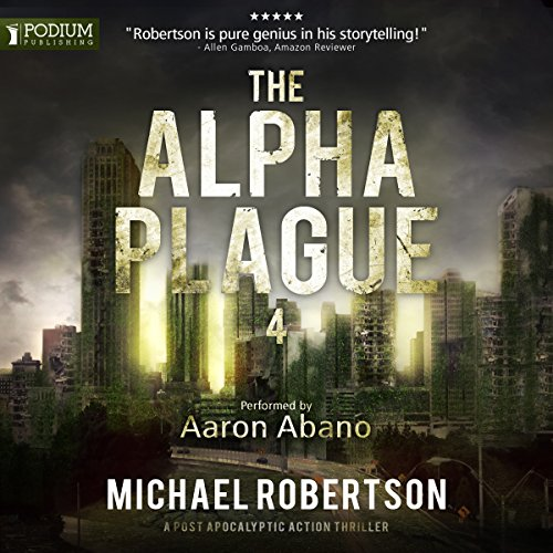 The Alpha Plague 4 audiobook cover art