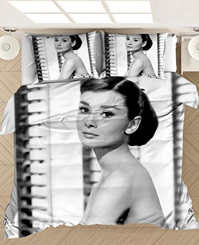 WLL 3D Sexy Beauty-Thema Bettbezug-Set