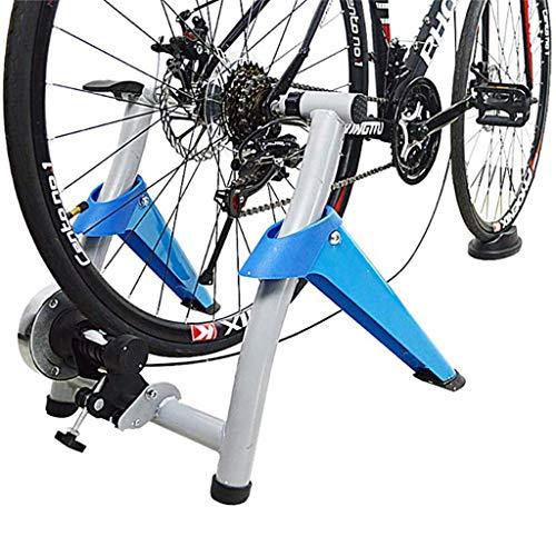 YQTXDS Entrenador de Bicicleta Interior Eexercise Soporte magnético para Entrenador de Bicicleta Resistencias magnéticas le Permite Trabajar (Entrenador de Bicicleta)