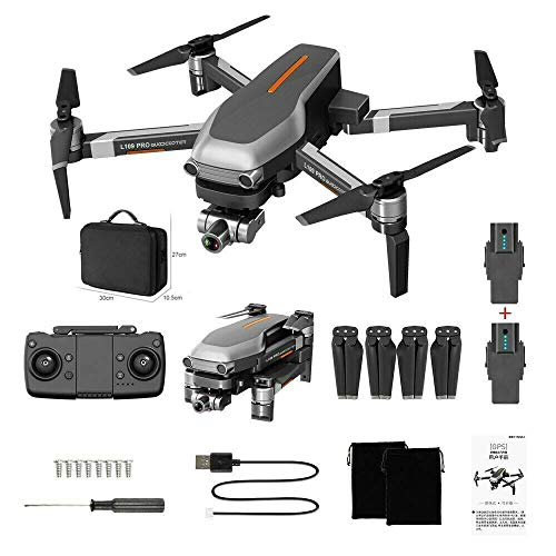 Eariy L109 PRO Faltbare Drohne mit 120°Weitwinkel 4K Kamera, Drone mit 1080P HD WiFi FPV Live Übertragung, 25 Minuten Lange Akkulaufzeit&App-Steuerung&intelligent Folgen&Gestensteuerung
