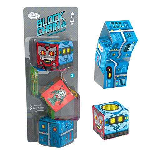 Block Chain (Robots) STEM Toy and Logic Game for Boys and Girls Age 8 and Up – The Addictive Brainteaser Puzzle