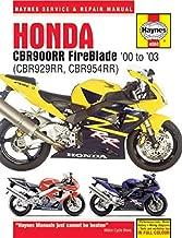i5motorcycle Haynes Repair Manual 4060 for Honda CBR929RR CBR954RR CBR929 CBR954 CBR 929 954 RR 929RR 954RR 2000-2003
