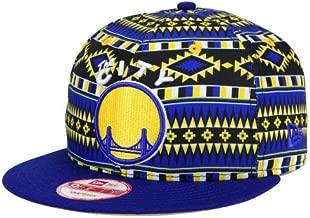 Golden State Warriors New Era NBA HWC Tri-All Print 9FIFTY Snapback Cap Hat