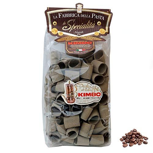 Paccheri rigati al caffè Kimbo 500 Gr.