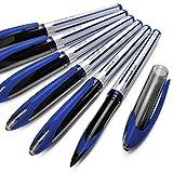Uni-Ball Air–Bolígrafo roller, 0,7mm, caja de 12, azul, UBA-188-L