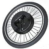 OUKANING Kit de conversión para bicicleta eléctrica de 26 pulgadas, 40 km/h, 800 W, 36 V