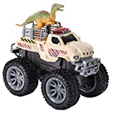 Dinosaur Transport Monster with Lights and Sounds, Dino Truck Transporter...