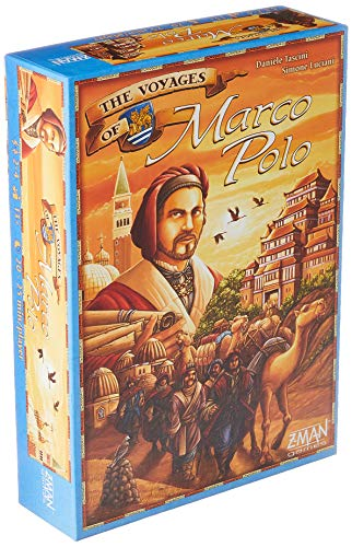 The Voyages of Marco Polo Strategy Board Game