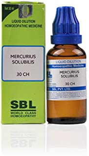 SBL Homeopathy Mercurius Solubilis (30 ML) (Select Potency) by USAMALL (30 CH)