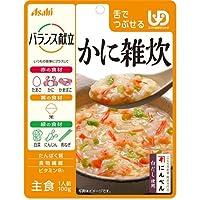 アサヒグループ食品 バランス献立 かに雑炊 100g×12個入