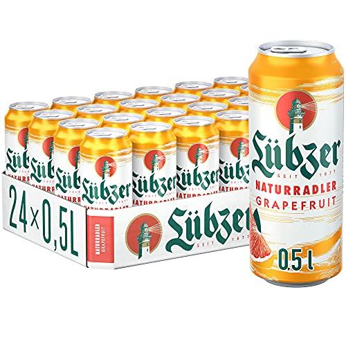 Lübzer Naturradler Grapefruit Biermischgetränk (24 x 0.5L)