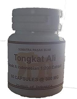 Tongkatali.org's 60 Capsules Grade A Indonesian 1:200 Tongkat Ali Extract