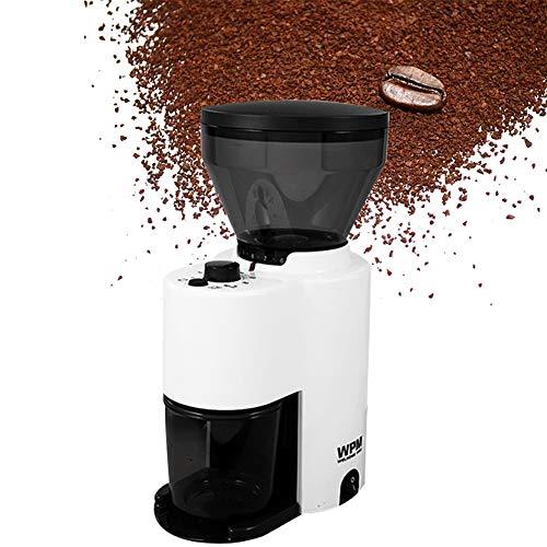 Hanchen Elektrische koffiemolen, capaciteit 250 g, automatische koffiemolen met timer 0-60 s conische maalschijf van roestvrij staal