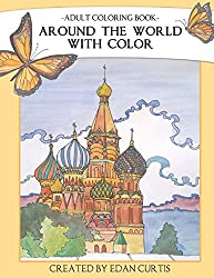 edan curtis coloring books for adults Around the world with color
